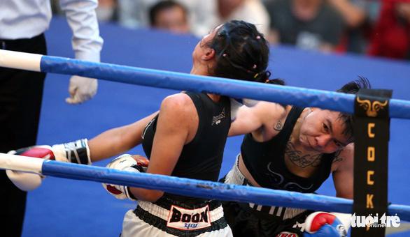 Đêm toàn thắng của quyền Anh Việt Nam tranh đai WBO châu Á - Thái Bình Dương - Ảnh 9.