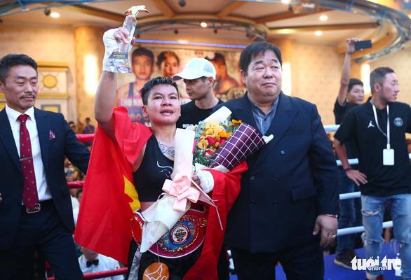 Đêm toàn thắng của quyền Anh Việt Nam tranh đai WBO châu Á - Thái Bình Dương - Ảnh 10.