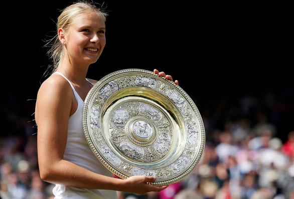 Búp bê Nga Sharapova từ đỉnh cao vinh quang đến đoạn kết buồn - Ảnh 1.