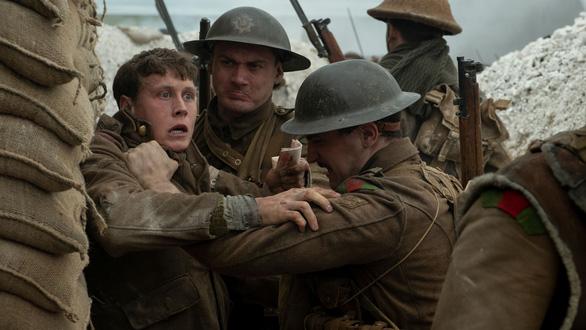 Sau Quả Cầu Vàng, 1917 lại 'càn quét' BAFTA Awards 2020 - Ảnh 1.