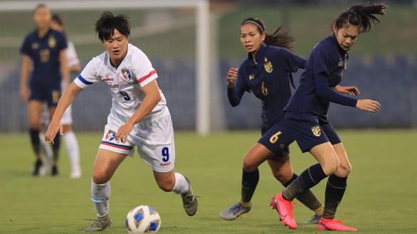 Thua Đài Loan, tuyển nữ Thái Lan hẹp cửa dự Olympic 2020 - Ảnh 1.