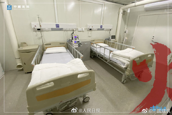 Bệnh viện dã chiến Hỏa Thần Sơn đã tiếp nhận bệnh nhân nhiễm corona - Ảnh 5.