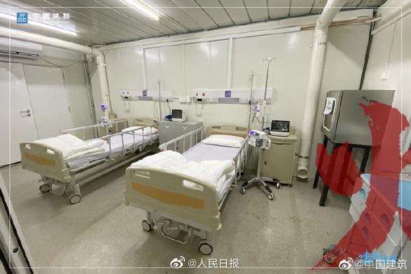Bệnh viện dã chiến Hỏa Thần Sơn đã tiếp nhận bệnh nhân nhiễm corona - Ảnh 7.