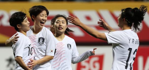 Hàn Quốc vùi dập Myanmar 7-0, tuyển nữ Việt Nam sáng cửa đi tiếp - Ảnh 1.