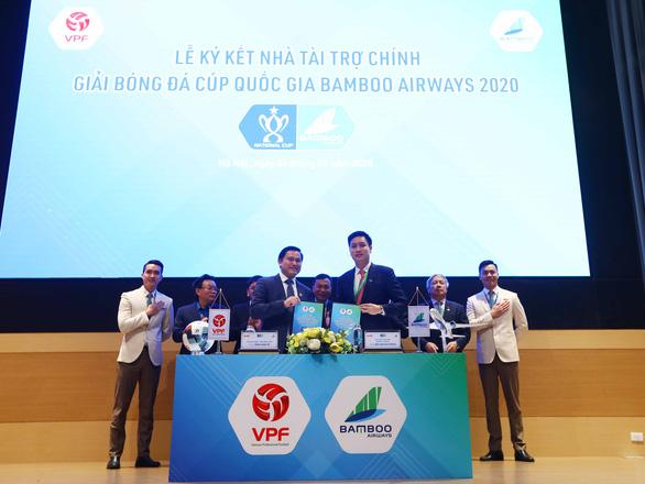 Nhà vô địch Cúp Quốc gia 2020 được thưởng 1 tỉ đồng - Ảnh 1.
