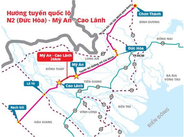 Miền Tây sẽ có tuyến cao tốc thứ hai dài 84km - Ảnh 1.