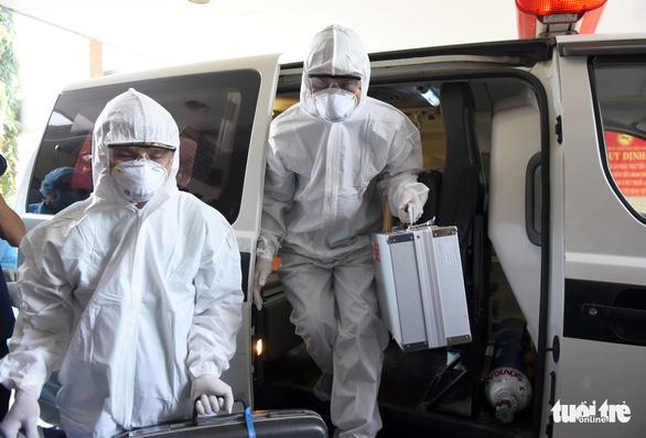 Bệnh viện Thống Nhất diễn tập ứng phó dịch virus corona - Ảnh 4.