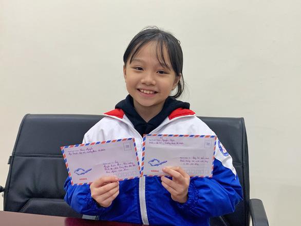 Học sinh lớp 4 tặng tiền lì xì mua khẩu trang, viết thư gửi Thủ tướng - Ảnh 1.