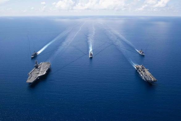 Tuần tra hàng hải của Mỹ ở Biển Đông đạt con số kỷ lục - Ảnh 1.