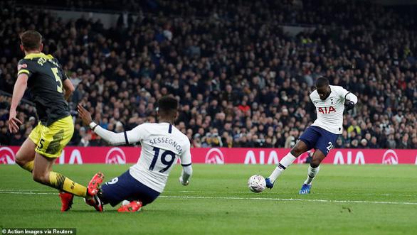 Thắng nghẹt thở Southampton, Tottenham vào vòng 5 Cúp FA - Ảnh 1.