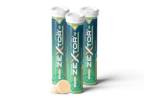 Ra mắt viên sủi hỗ trợ tăng cường sinh lực Zextor chứa Tang phiêu tiêu - Ảnh 1.