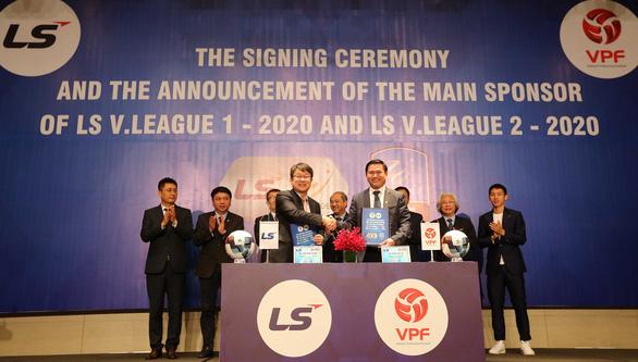 V-League 2020 đón nhà tài trợ mới dù chưa biết khi nào có thể khởi tranh - Ảnh 1.