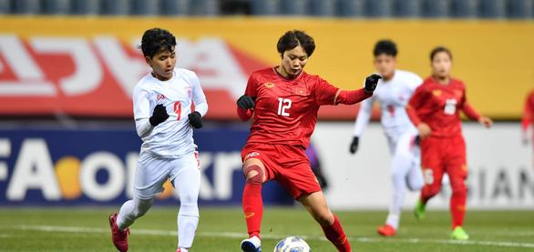 Thắng Myanmar, nữ Việt Nam vượt qua vòng loại thứ 3 Olympic 2020 - Ảnh 1.