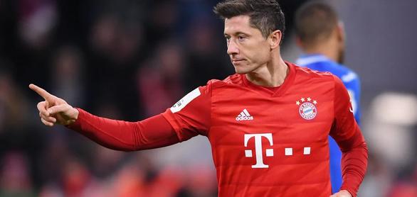 Lewandowski lập cú đúp, Bayern Munich vào tứ kết Cúp quốc gia Đức - Ảnh 1.