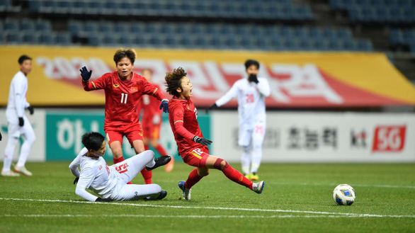 Thắng Myanmar, nữ Việt Nam vượt qua vòng loại thứ 3 Olympic 2020 - Ảnh 2.
