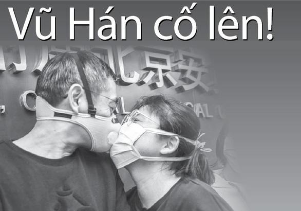 Chung tay phòng chống dịch virus corona - Vũ Hán cố lên! - Ảnh 1.