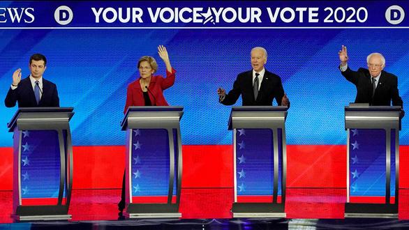 Đảng Dân chủ chờ màn 2 ở New Hampshire - Ảnh 1.