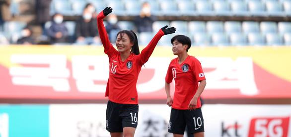 Thua Hàn Quốc 0-3, tuyển nữ Việt Nam xếp nhì bảng A - Ảnh 1.