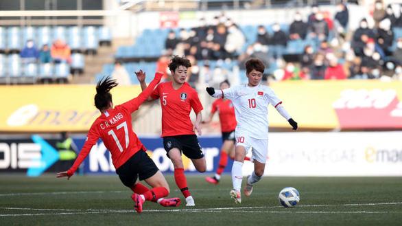 Thua Hàn Quốc 0-3, tuyển nữ Việt Nam xếp nhì bảng A - Ảnh 2.