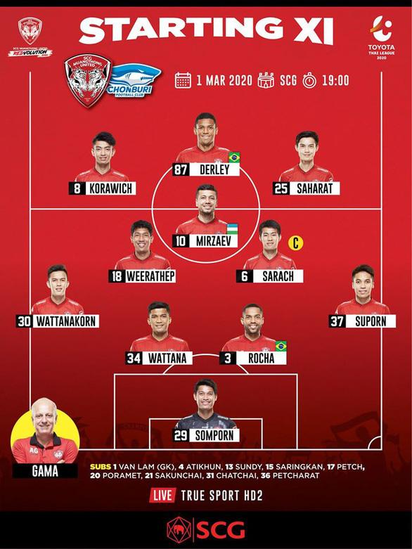 Thủ môn Đặng Văn Lâm mất suất bắt chính ở Muangthong United - Ảnh 2.
