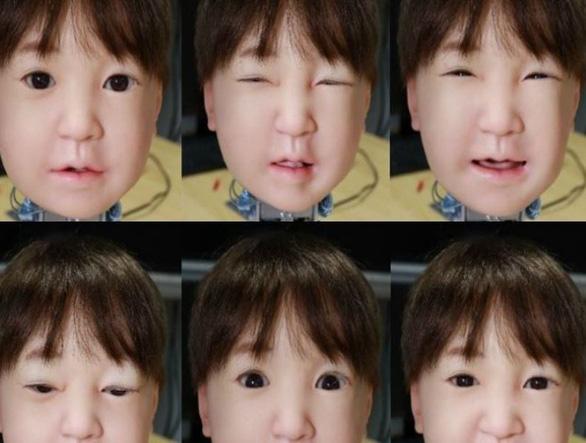 Lần đầu tạo robot biết nhăn mặt khi đau - Ảnh 2.