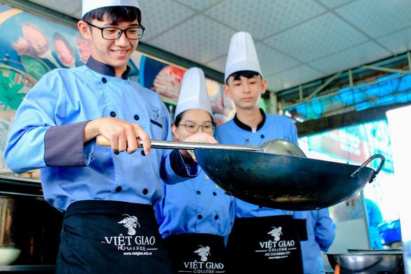 Quản trị Bếp - Ẩm thực: trải nghiệm nghề nghiệp và đảm bảo tương lai - Ảnh 3.