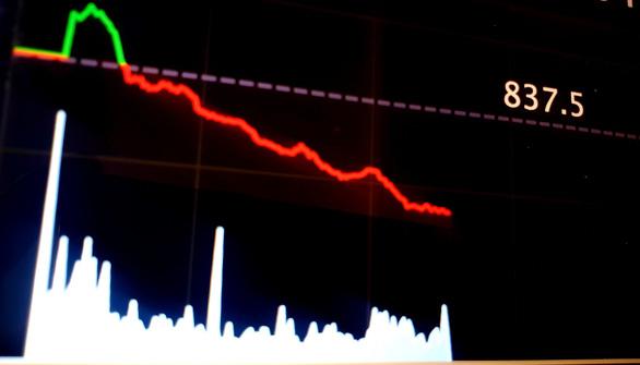 VN-Index giảm mạnh, ngược chiều chứng khoán thế giới - Ảnh 1.
