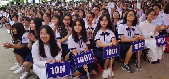 Đề xuất phát khẩu trang miễn phí cho học sinh TP.HCM khi đi học lại - Ảnh 1.