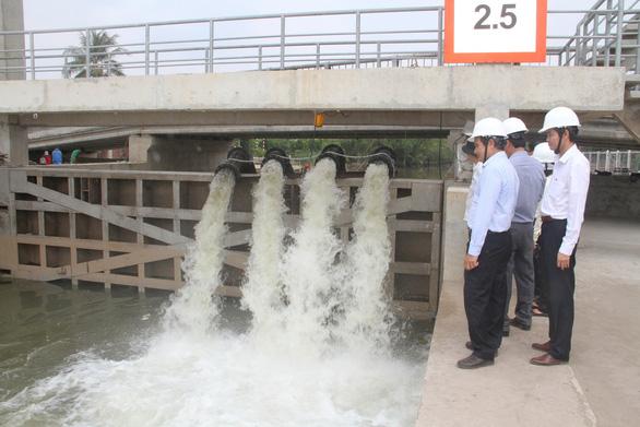 EVN SPC tăng cường cấp điện chống hạn mặn tại miền Tây Nam Bộ - Ảnh 4.