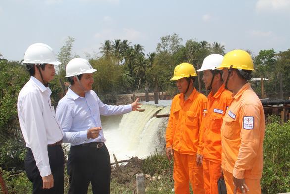 EVN SPC tăng cường cấp điện chống hạn mặn tại miền Tây Nam Bộ - Ảnh 3.