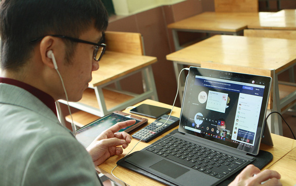 Dạy học trực tuyến: mạnh ai nấy làm - Ảnh 3.