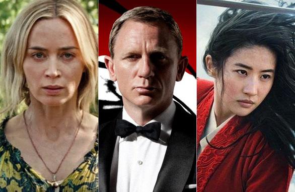 Loạt bom tấn hoãn chiếu vì COVID-19: James Bond, Mulan, A quiet place 2, Fast & furious 9 - Ảnh 1.