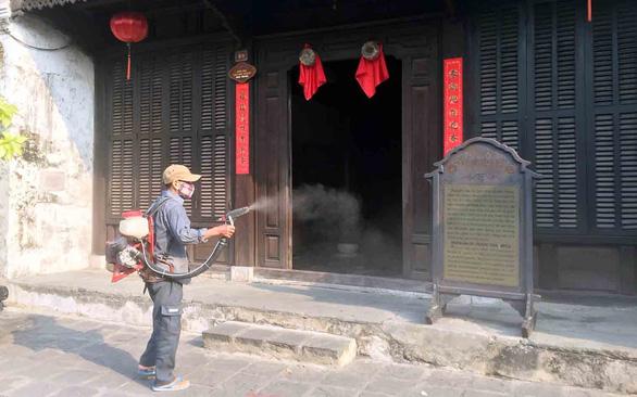 Hội An, Phú Yên dừng các hoạt động tham quan du lịch - Ảnh 1.