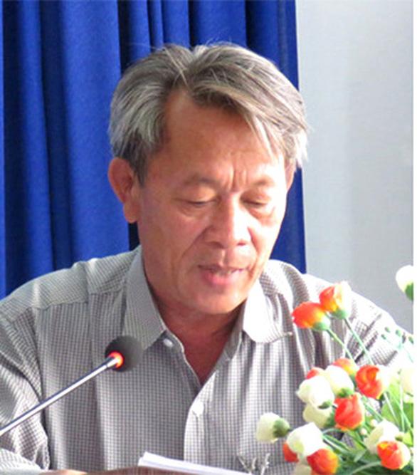Cảnh cáo phó giám đốc Sở Tài nguyên và môi trường Phú Yên - Ảnh 1.