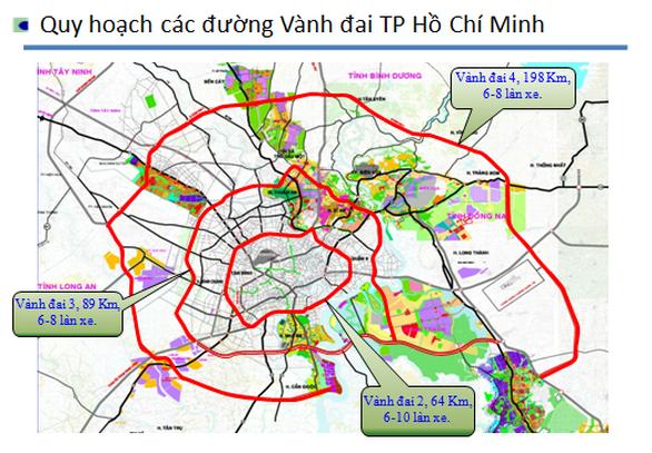 Sở GTVT 4 tỉnh để xuất cấp bách đầu tư đường vành đai 3 TP.HCM - Ảnh 1.