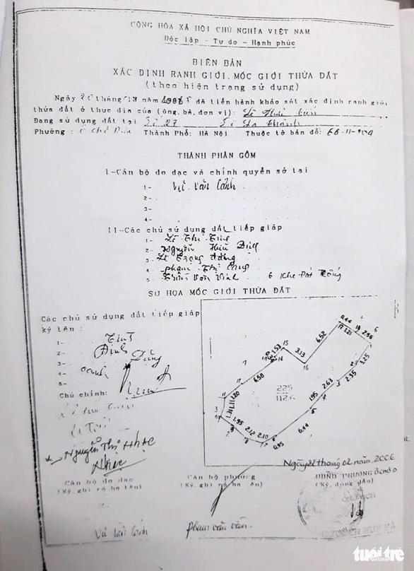 Thu hồi sổ đỏ cấp sai vụ người chết 2 năm vẫn ký tươi xác nhận đất - Ảnh 2.