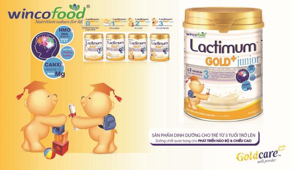 Lactimum gold+ Junior (Wincofood) - Sản phẩm khuyên dùng cho trẻ lên 3 trong mùa dịch - Ảnh 1.