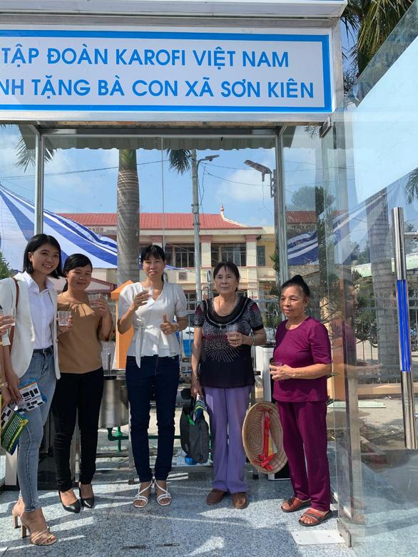 Trang bị Trạm cấp nước tinh khiết cho xã bị ngập mặn Sơn Kiên, tỉnh Kiên Giang - Ảnh 2.