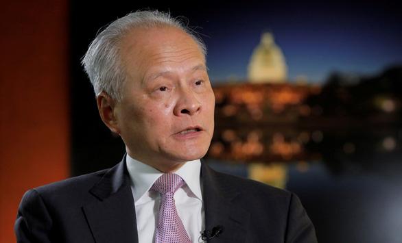 Ông Biden nói Trung Quốc muốn làm số 1 thế giới, đại sứ Trung Quốc nói gì? - Ảnh 1.