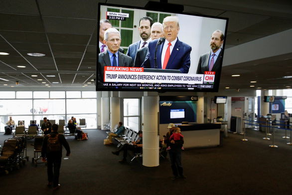 Ông Trump tuyên bố tình trạng khẩn cấp quốc gia với dịch COVID-19 - Ảnh 1.