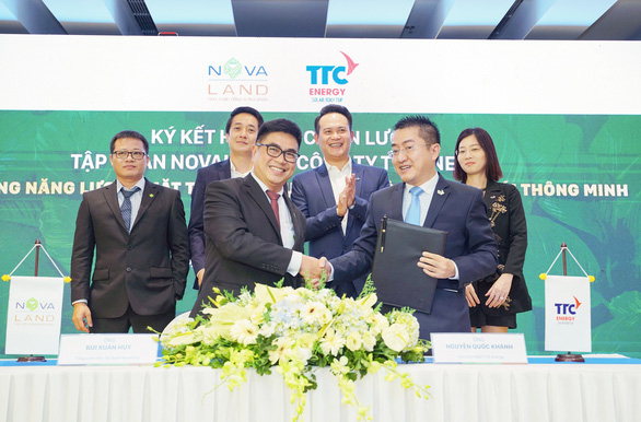 TTC hợp tác chiến lược với Novaland - Ảnh 1.