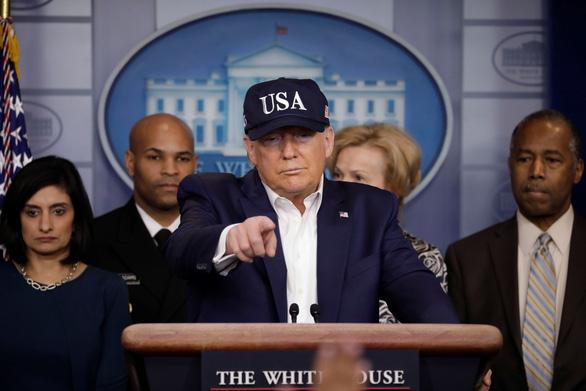 Tổng thống Trump âm tính với corona - Ảnh 1.