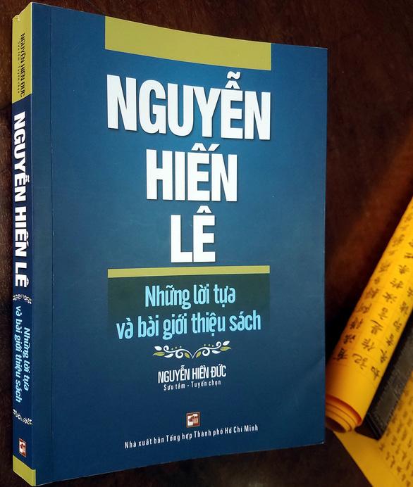 Gặp sách Nguyễn Hiến Lê, nhớ bố ngày xưa - Ảnh 1.