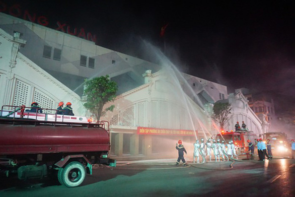 Nâng cao ý thức phòng cháy chữa cháy tại các chợ - Ảnh 2.