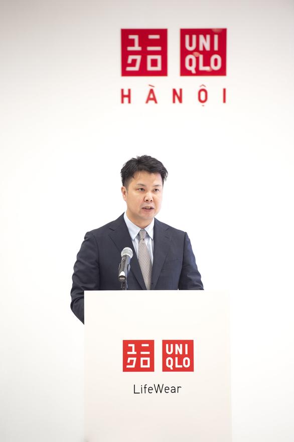 Tổng giám đốc UNIQLO Việt Nam: Sẽ đẩy nhanh việc mở thêm các cửa hàng tại Việt Nam - Ảnh 1.