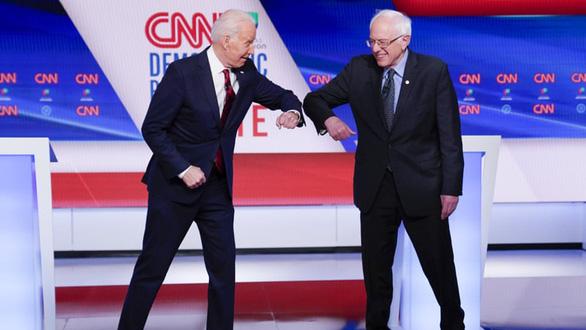 Tranh luận tay đôi, ông Biden thắng tập 1 - Ảnh 1.