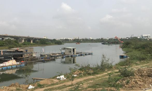 Đà Nẵng xây đập tạm thứ 2 trên sông Cẩm Lệ để ngăn mặn - Ảnh 2.