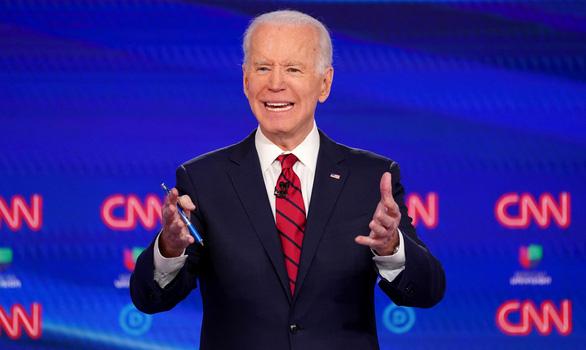 Ông Biden: Nếu tôi thắng, Mỹ sẽ có nữ phó tổng thống - Ảnh 1.