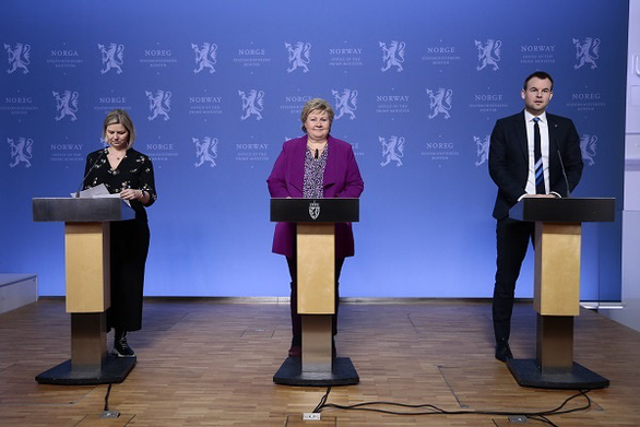 Thủ tướng Na Uy tổ chức họp báo riêng về corona cho trẻ em toàn quốc - Ảnh 1.