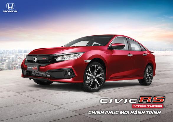 Honda Civic RS thêm màu mới - Đậm tính thể thao - Ảnh 1.